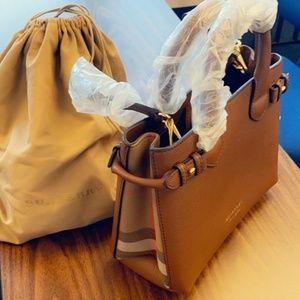 Med Size Burberry Bag